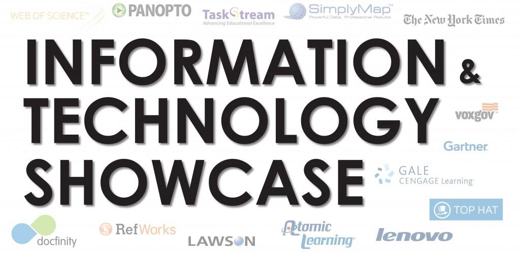 Info & Tech Showcase – Feb. 11th – 9:30am-1:00pm