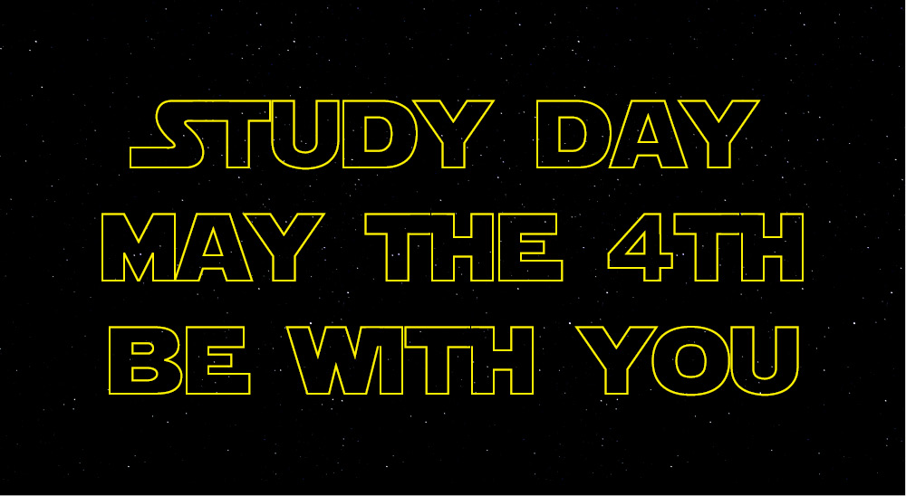 Star Wars/Study Day