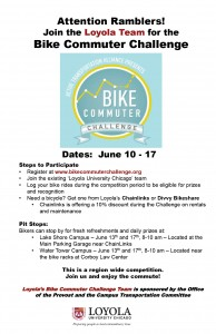 bike commuter challenge flyer