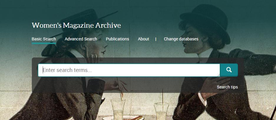 Announcing Women's Magazine Archive