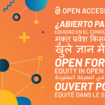 Open Access Week Open For Whom? written in multiple languages