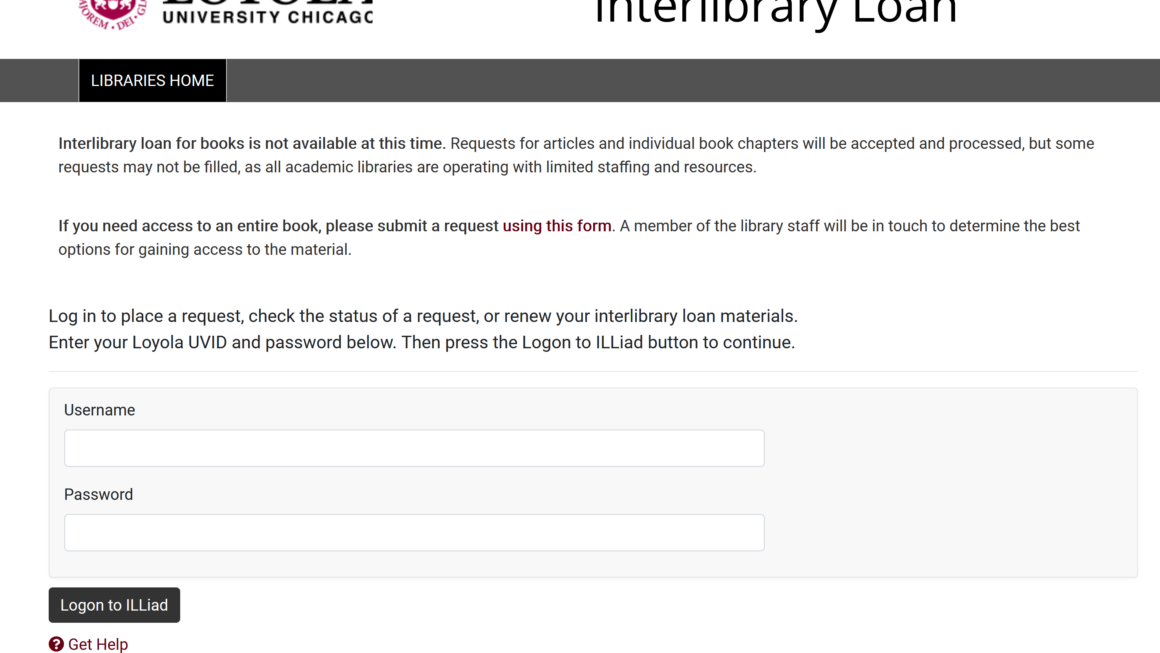 New look for Interlibrary Loan