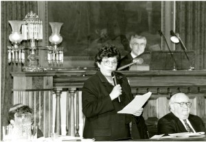 Carol Ronen in the State Senate, n.d.