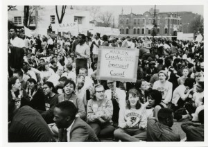 Mundelein College students in Montgomery, Alabama.