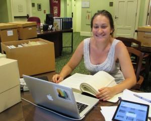 Researcher Jill Plummer