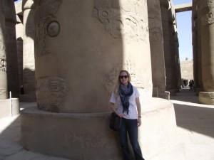 Me in Egypt in 2011.