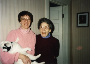 Agatha Hessley and her daughter Rita, 1994
