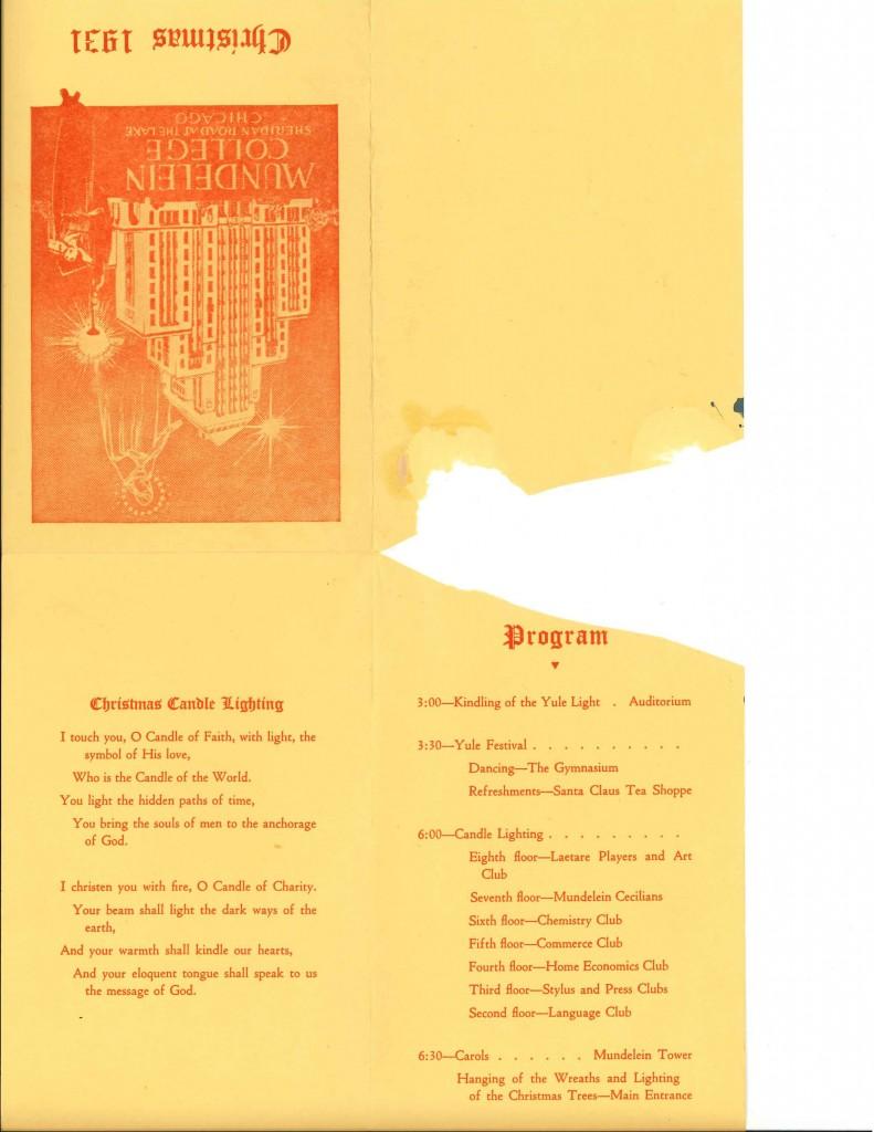 1931 Program